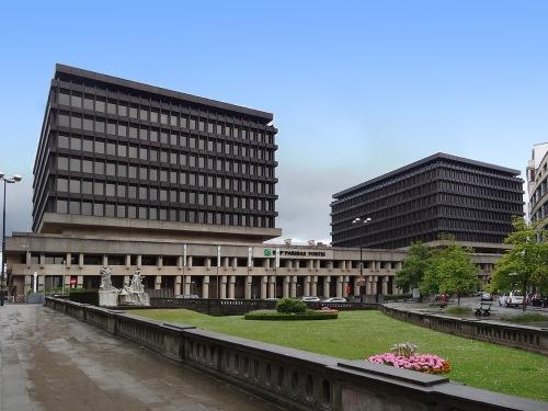l'immeuble actuel de l'architecte Van Kuyck © delirurbain 2014