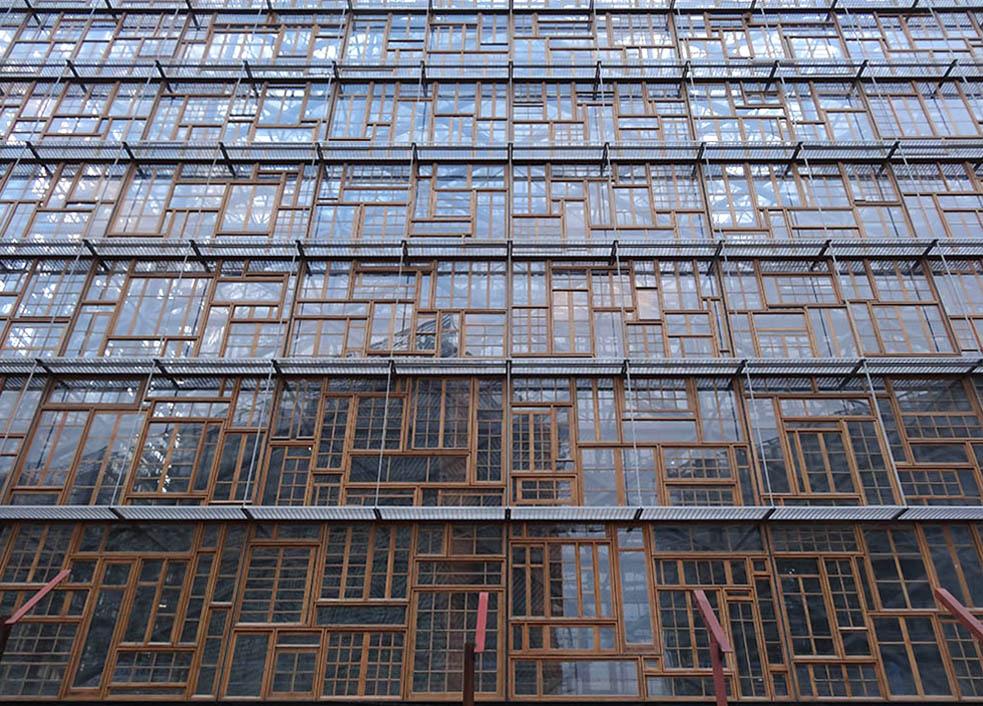 """Europa"" façade Loi - Philippe Samyn 11 2014"